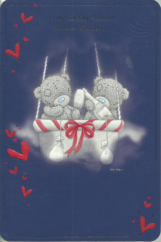 Me to you Tatty Teddy Happy birthday Card To my darling – Tatty Teddy Birthday Cards