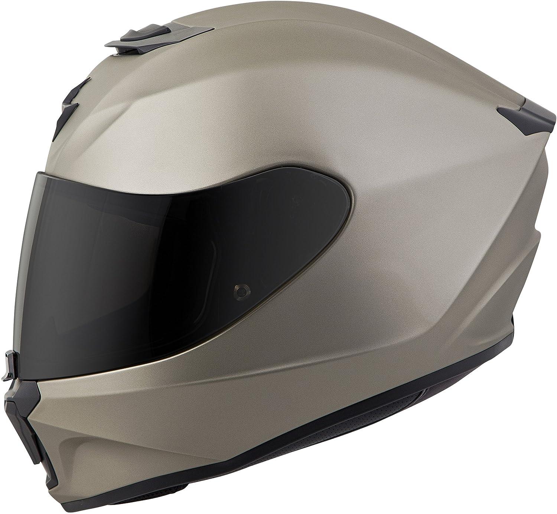 Scorpion EXO-R420 Solid Motorcycle Helmet Matte Titanium MD