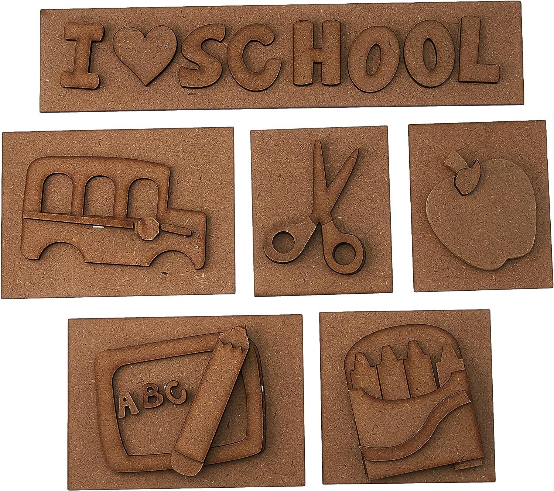 Foundations Décor, Shadow Box Kit - School