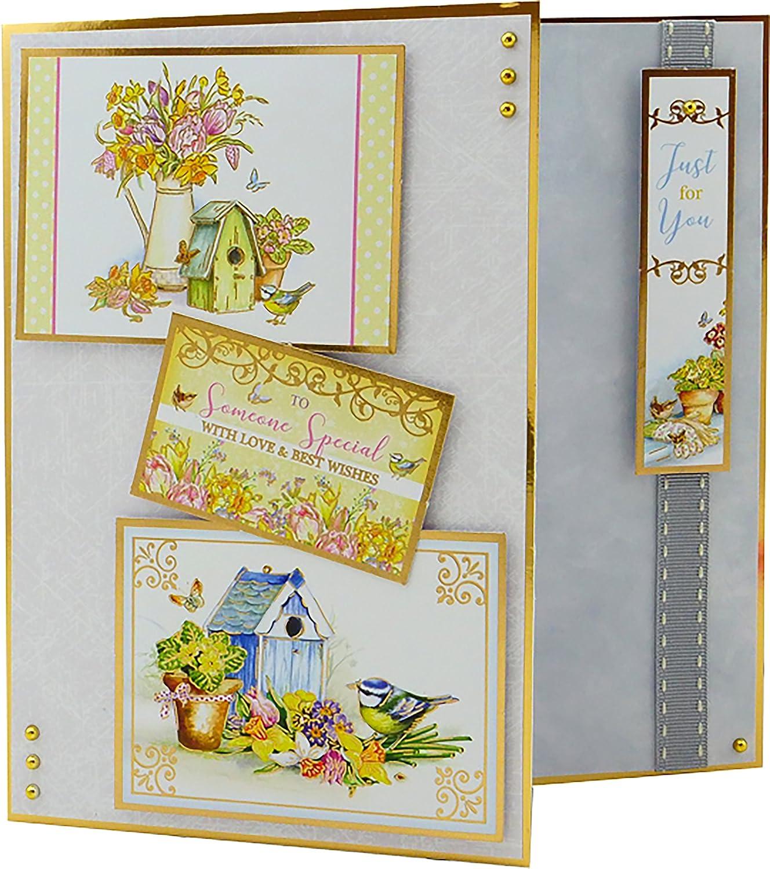 Hunkydory Garden Treasures - GARDEN FRIENDS Topper Set Card Kit GARDEN904 Hunkydory Crafts