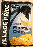 Village Pride Salted Plantain Chips 75g