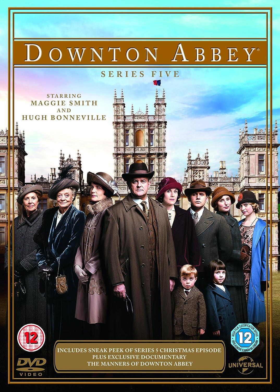 downton abbey series 5 dvd amazon co uk maggie smith hugh