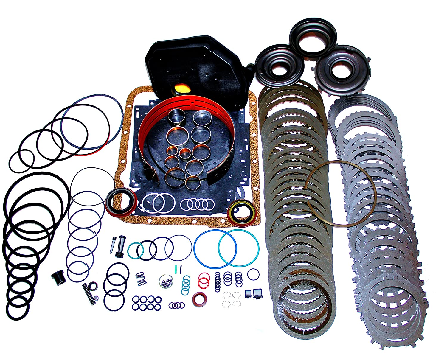 4L60E Transmission Rebuild Kit Heavy Duty Master Kit with 3-4 Power-pack