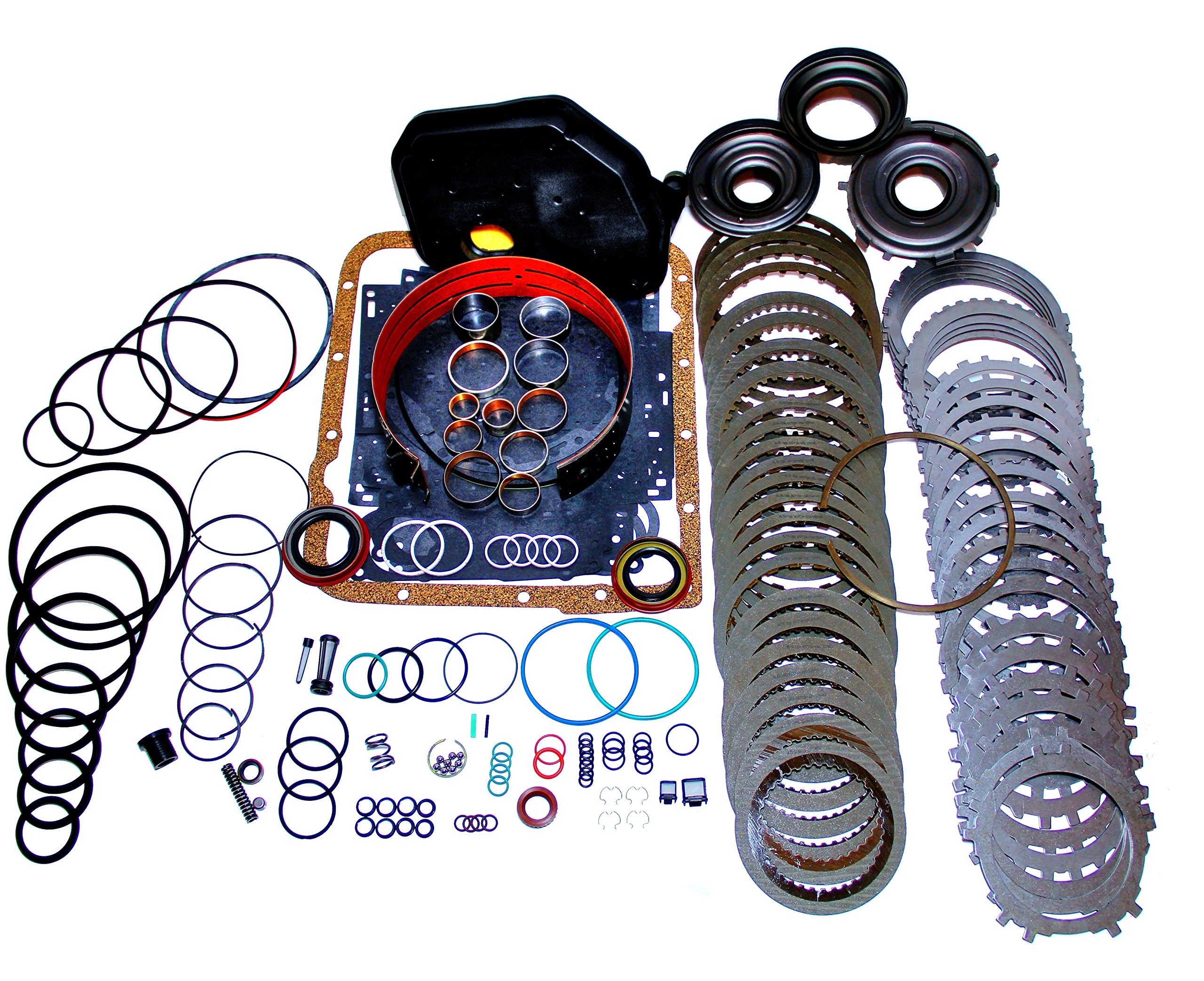 4L60E Transmission Rebuild Kit Heavy Duty Master Kit with 3-4 Power-pack by World Wide Parts Outlet
