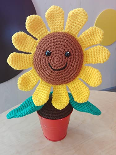 Amigurumi Sunflower Squishling | Amigurumi Sunflower Squishl… | Flickr | 500x375