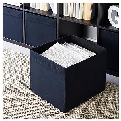IKEA DRONA Caja de almacenaje (Negro)