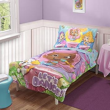 Amazon.com : Nickelodeon Toddler Bedding Set, Bubble Guppies : Baby