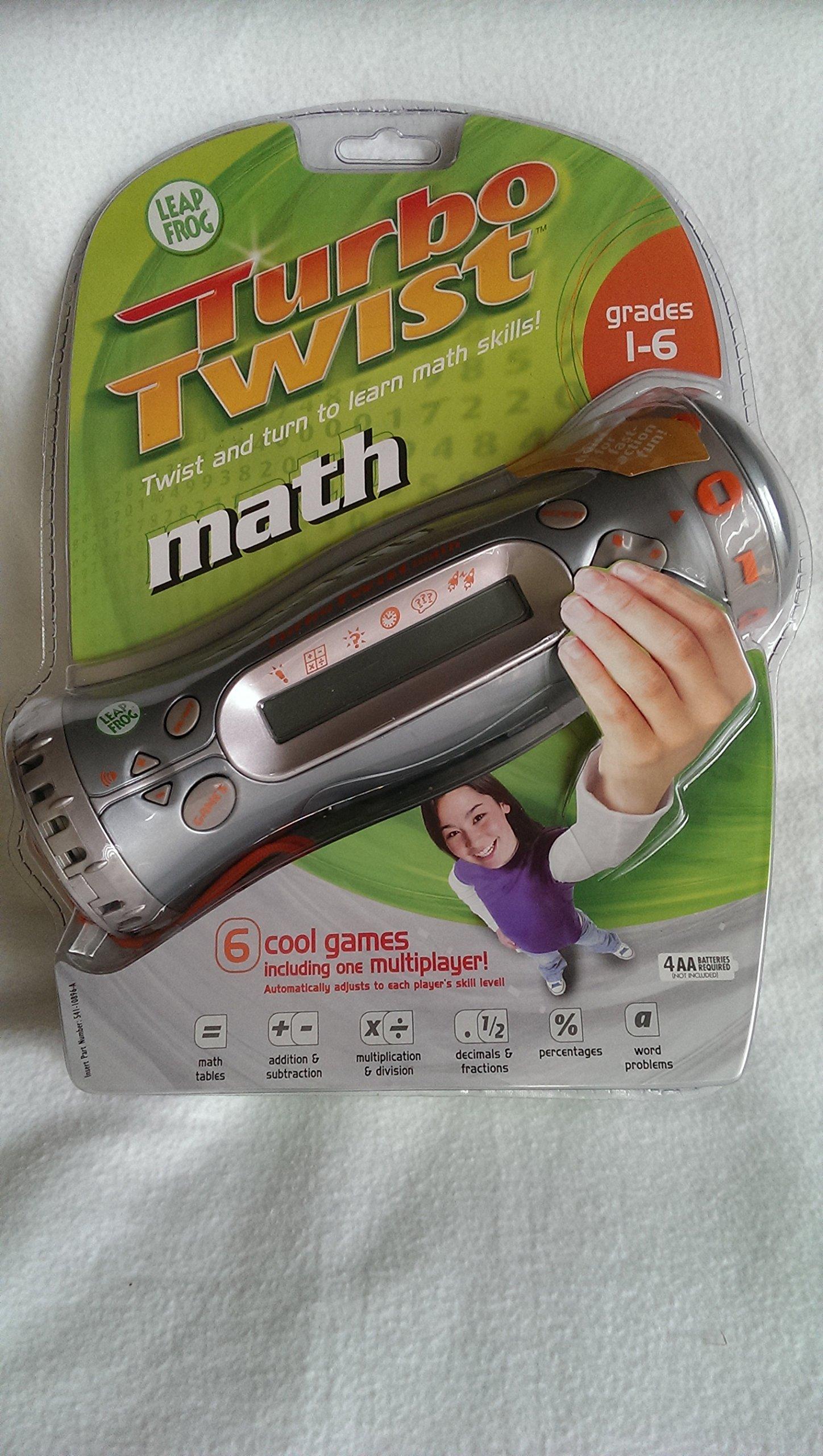 Turbo Twist Math Grades 1-6 by Leap Frog (Image #1)
