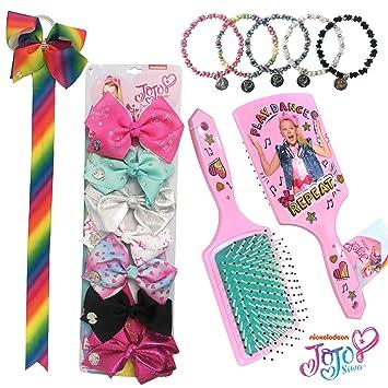 Amazon Com Jojo Siwa Kids Girls Hair Accessories Bundle 7 Days Of