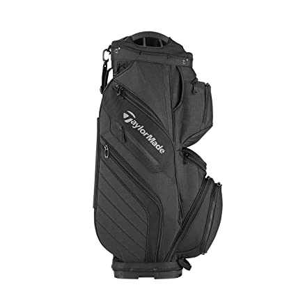 Amazon.com : TaylorMade Supreme 2018 Cart Bag (Black) (Black ... on golf trolley, golf course accessories supplies, golf pants, golf galaxy, golf pull carts, golf gifts, golf digest hot list bags, golf shopping bag, golf travel bag, golf stand bag, golf club bag, golf push carts,