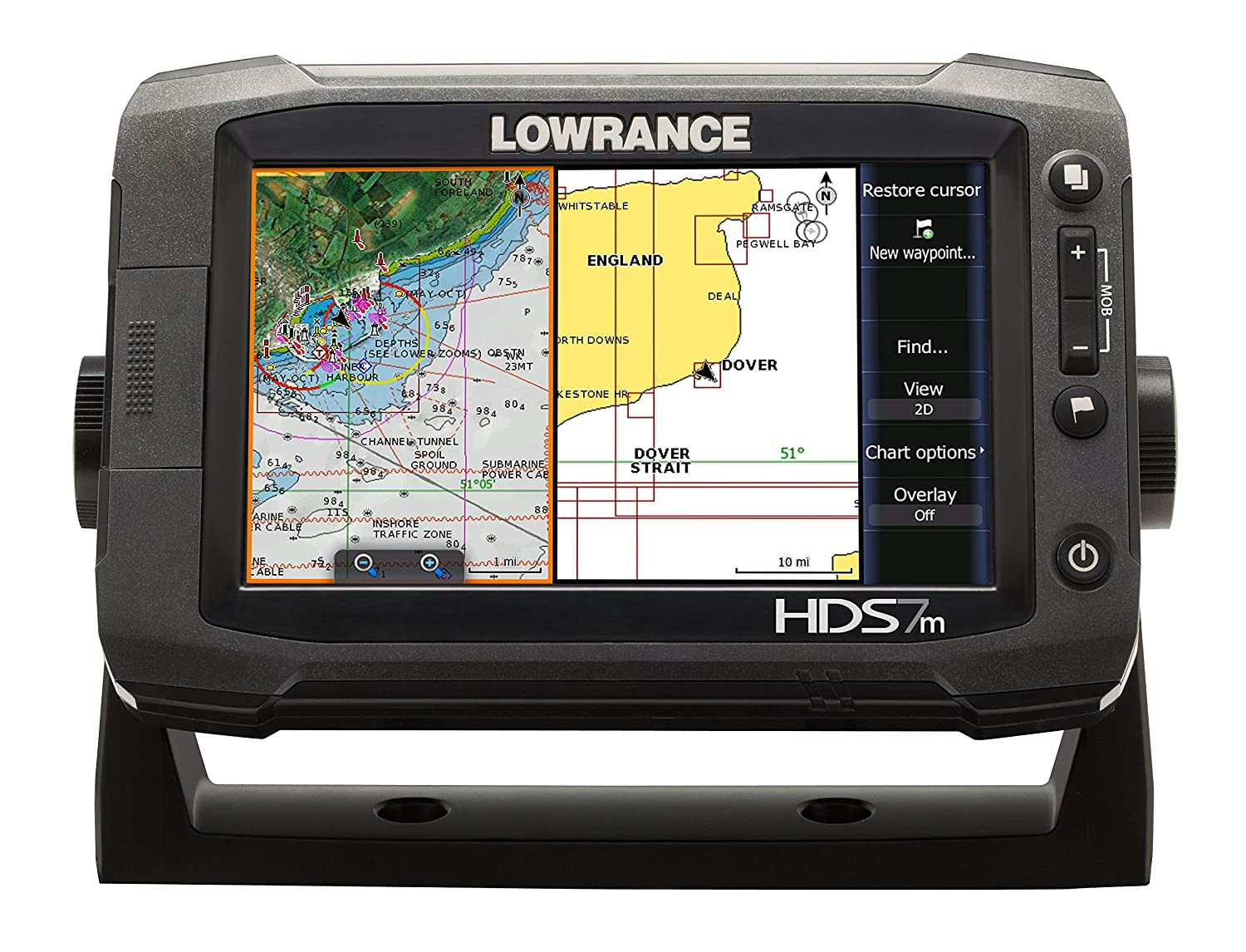 Lowrance Hds 7m Gen2 Touch Chartplotter 7 Inch Display Sonichub Wiring Diagram Electronics