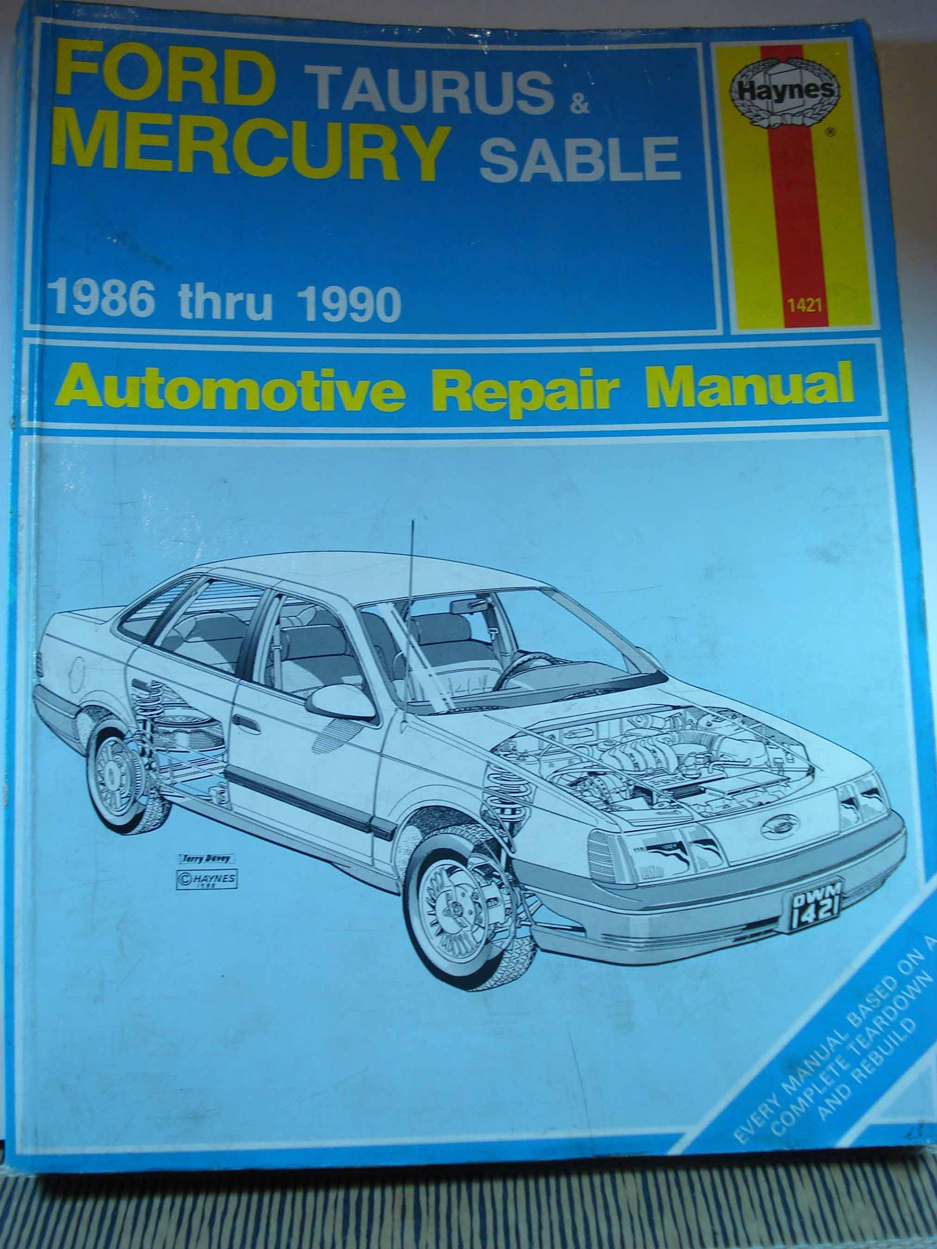 Ford Taurus & Mercury Sable 1986 thru 1990 Automotive Repair Manual (Haynes  Automotive Repair Manual Series): Bob Henderson, John H. Haynes:  9781850107095: ...