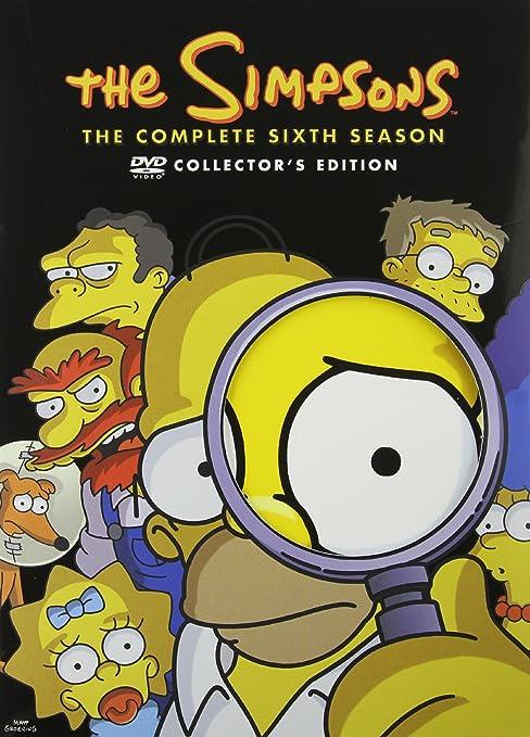 Amazon Com The Simpsons Season 6 Nancy Cartwright Harry Shearer Julie Kavner Dan Castellaneta Yeardley Smith Hank Azaria Matt Groening Movies Tv