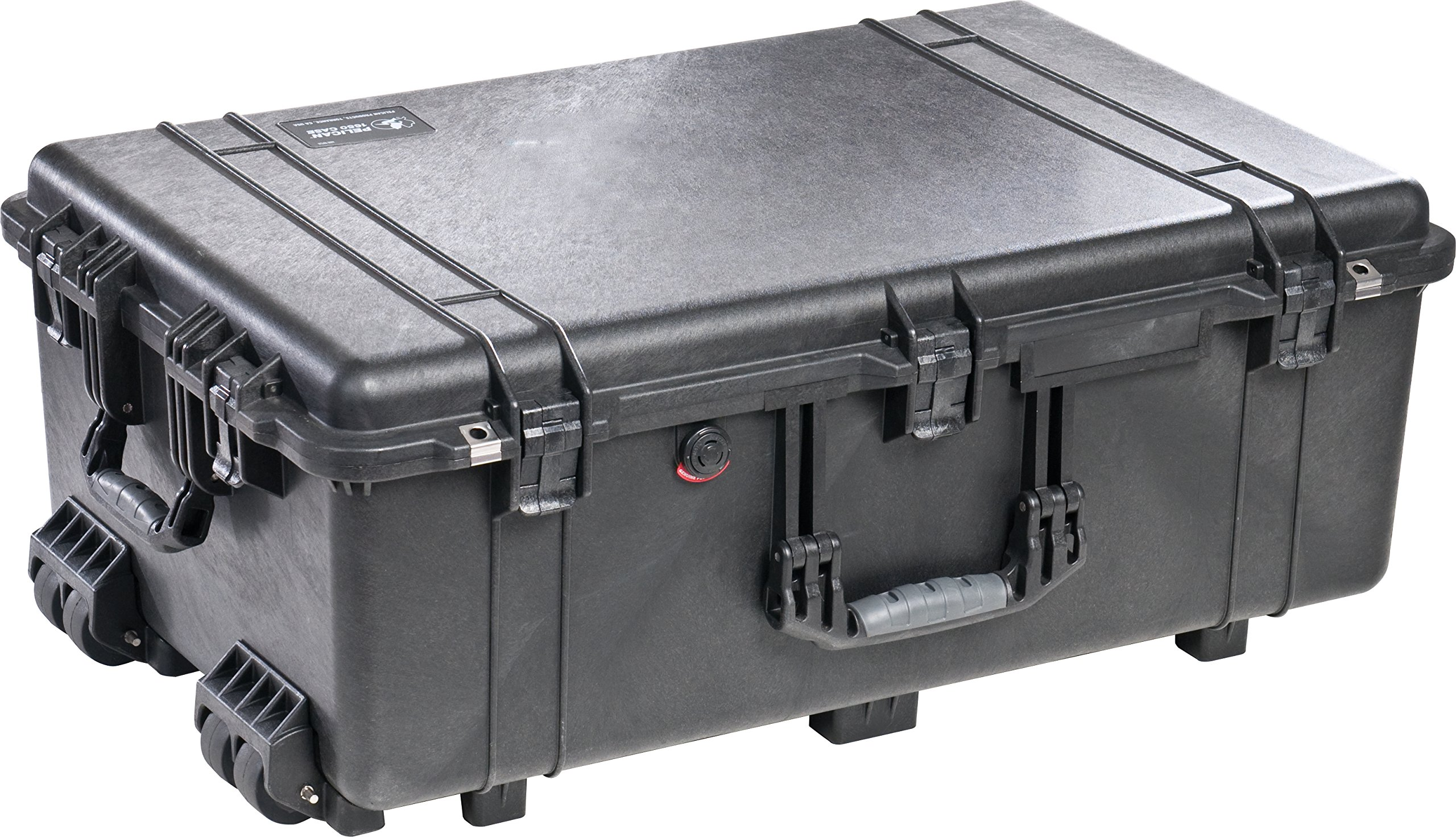 Pelican 1650 Case With Foam (Black) by Pelican