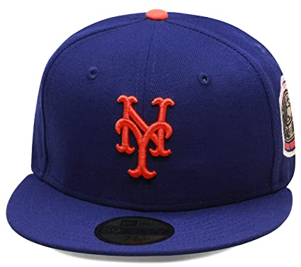 new era york fitted hat cap world series side patch mets uk capacity space