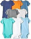Carter ' s 婴儿男孩8件装短袖紧身衣