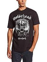 Motorhead Men's DS EXL Aftershock Short Sleeve T-Shirt