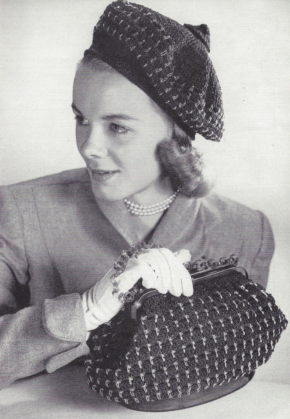 Amazon Vintage Crochet Patterninstructions To Make Beret Hat