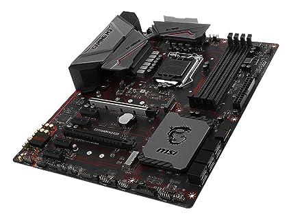 Msi - Lga1151/ Intel z270/ ddr4/ 2-Way crossfirex/ sata3&usb3.1/ m.2/ a&gbe/ATX Motherboard Model z270 Gaming m3: Amazon.es: Informática