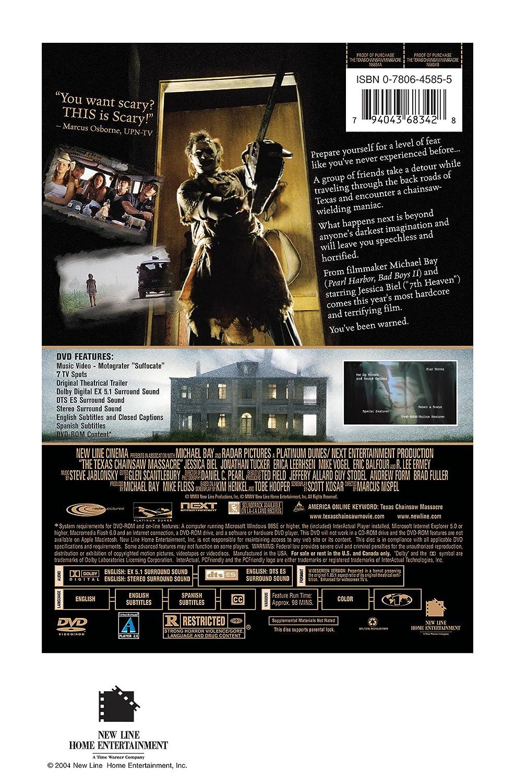 Texas Chainsaw Massacre [Reino Unido] [DVD]: Amazon.es ...