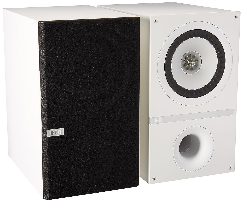 kef q300. amazon.com: kef q300wh bookshelf loudspeakers - white (pair): home audio \u0026 theater kef q300 \