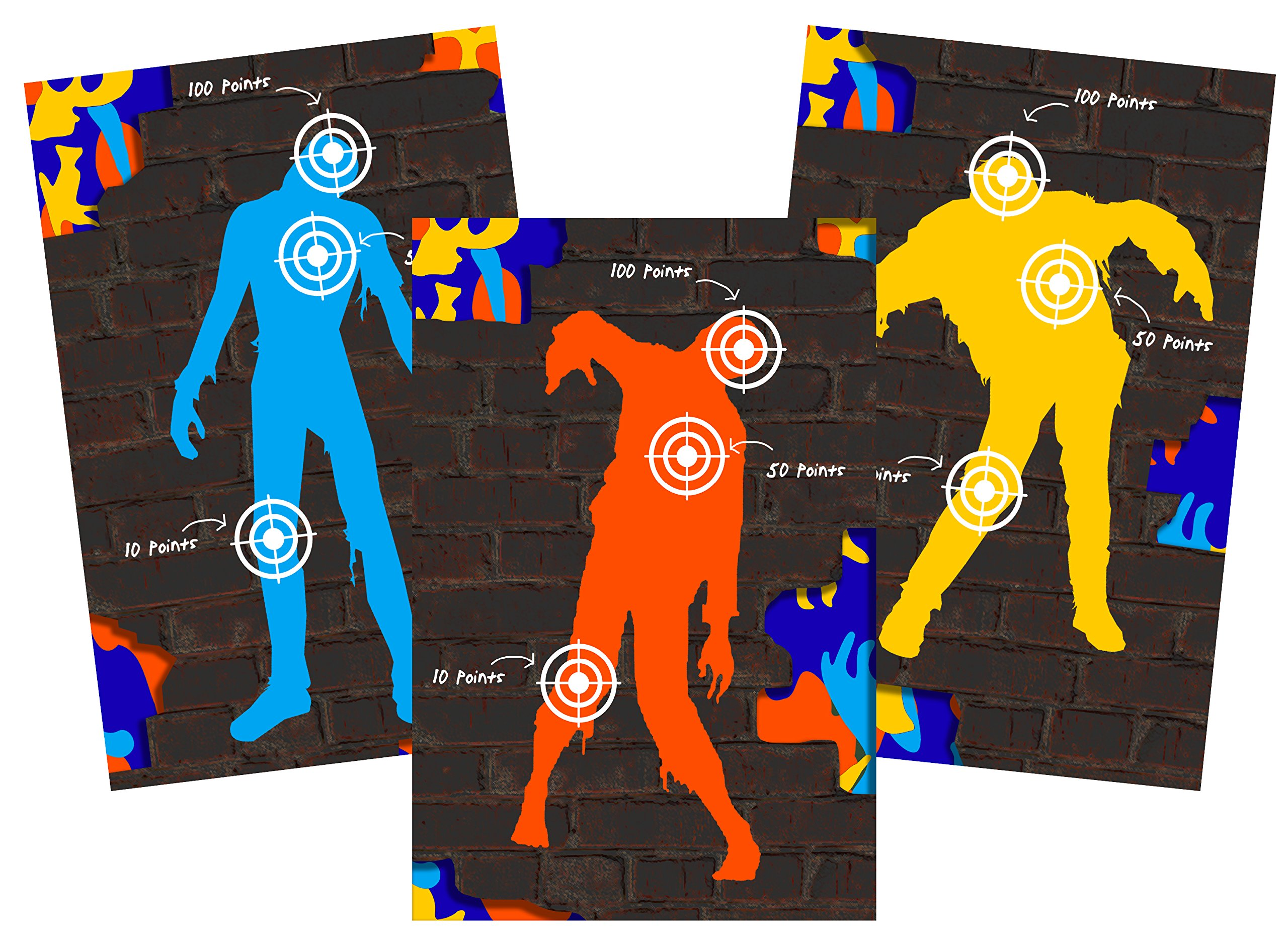 Dart Tag Themed Party Supplies (Blue Zombie Set)