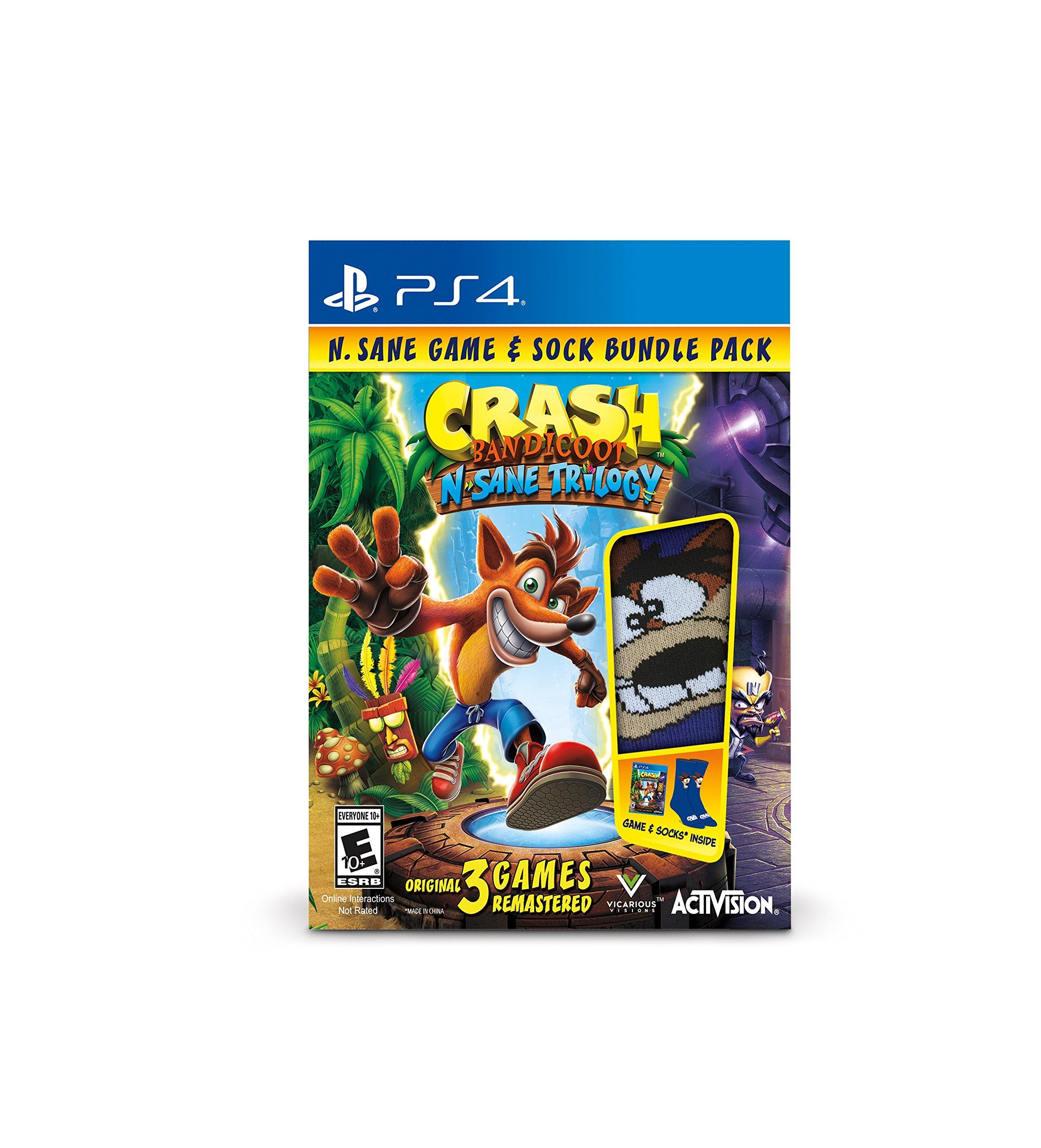 Crash Bandicoot Bundle - PlayStation 4 by Activision (Image #1)
