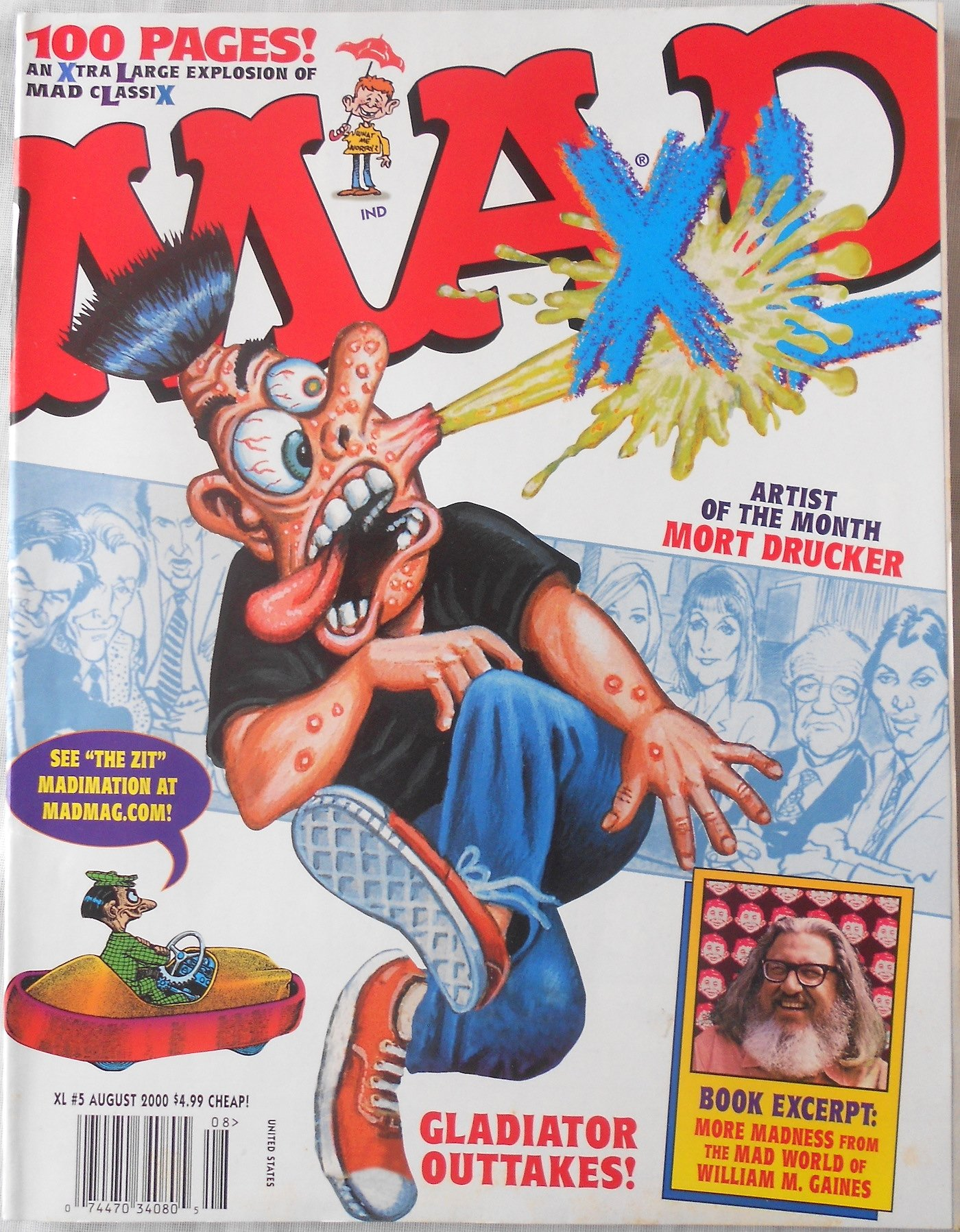 MAD XL #5 An Xtra Large Explosion of MAD Classix August 2000 ebook
