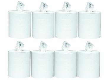 Scott centro Pull toallas de papel (01051) con absorción de secado rápido bolsillos, blanco, 4 rollos funda, 500/rollo de toallas de papel/: Amazon.es: ...