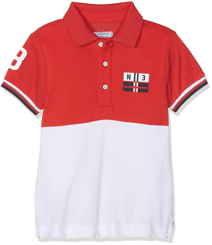 Mayoral Baby-Jungen T-Shirt Rot (Kirsche) 86 cm 1140