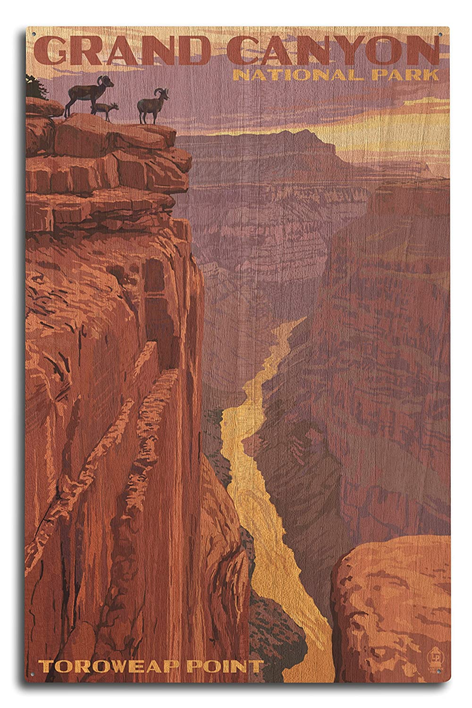 【2019春夏新作】 Grand 10 Canyon National Lantern Park - Toroweap x Point (9x12 Art Print, Wall Decor Travel Poster) by Lantern Press B0736658G8 10 x 15 Wood Sign 10 x 15 Wood Sign, 沖縄泡盛ショップ 島人ぬ宝:b972af6d --- arianechie.dominiotemporario.com