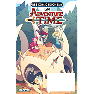 Free Comic Book Day 2018 - Adventure Time with Fionna & Cake
