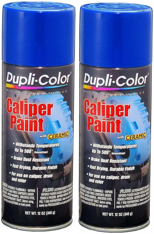 Dupli-Color BCP104 Blue Caliper Paint with Ceramic 12 oz. Aerosol (2 PACK) KRYLON