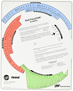 Air duct sizing calculator hvaccharts amazon books trane td1 ductulator with sleeve duct sizing calculator fandeluxe Gallery