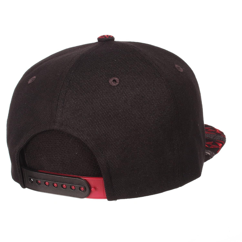Adjustable Black//Team Color Zephyr Adult Men Kolohe NCAA Snapback Hat
