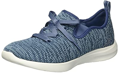 Skechers Women Blue Studio Comfort Premiere Class Walking Shoes