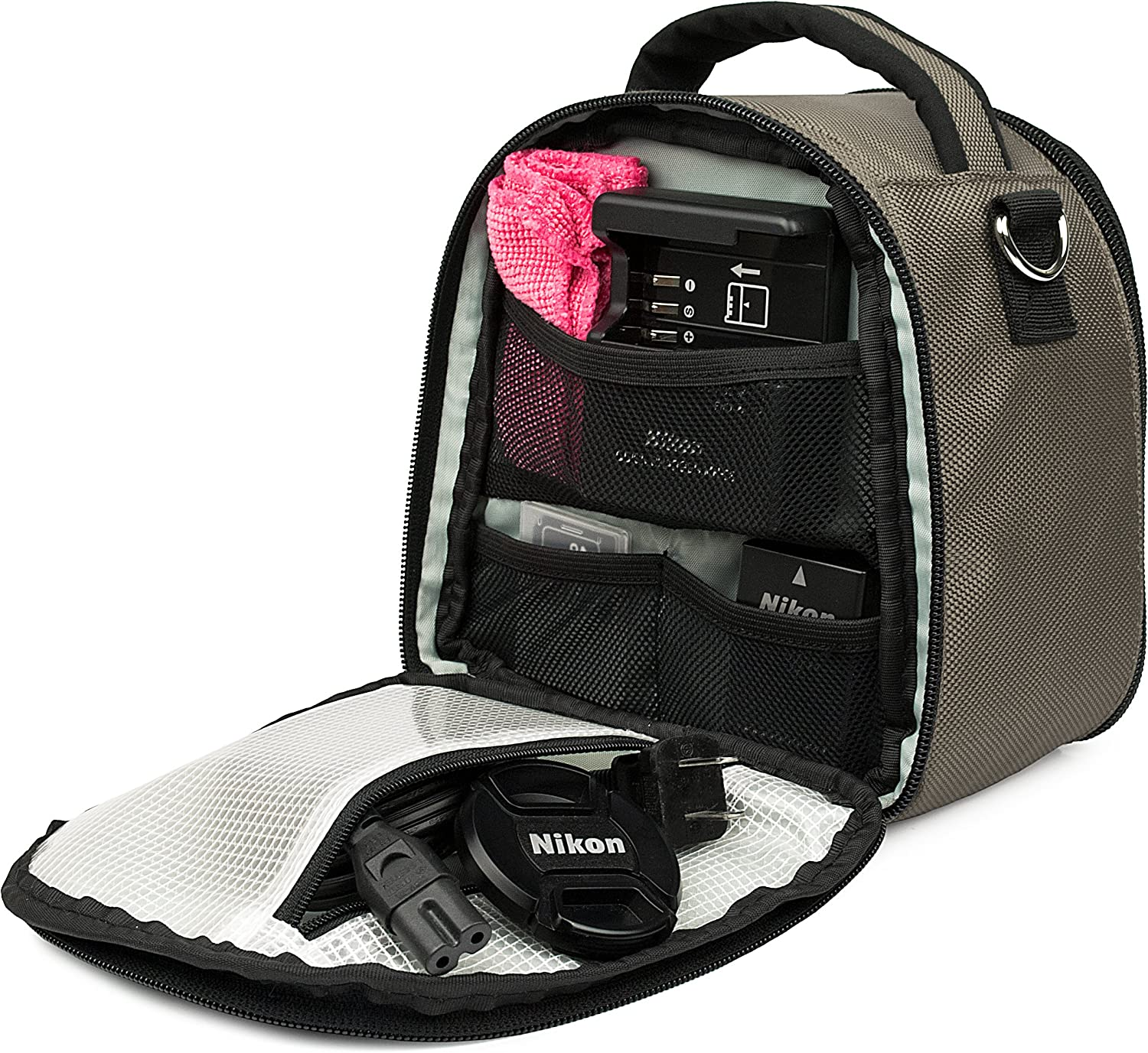 Bag with Shoulder Strap Carrying Case for Seentron Action Camera 4K Video Ultra
