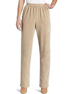 de3a5d91c10 Alfred Dunner Plus Size Stretch Corduroy Pants (Rose