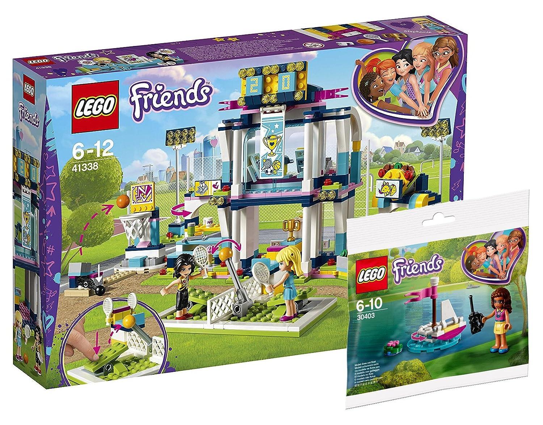 LEGO Friends 41338 - stephanies Sport Estadio Friends 30403 ...