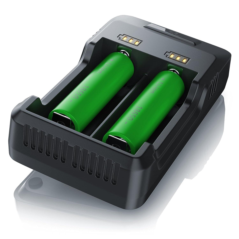 Cargador de pilas USB de Aplic | Estación de carga de pilas ...