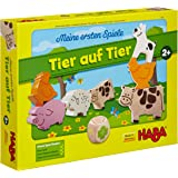 Haba: Gioco Il mio Primo Vero Gioco - Animal upon Animal [importato dalla Germania]