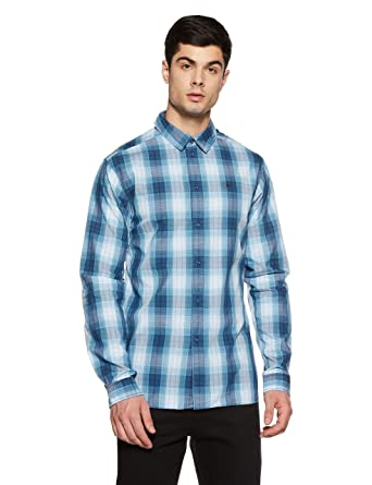 e3b048f9 Tommy Hilfiger Men's Checkered Regular Fit Casual Shirt: Amazon.in: Clothing  & Accessories