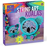 Craft-tastic – Stacked String Art Koalas – Craft Kit Makes 2 Cute Koalas