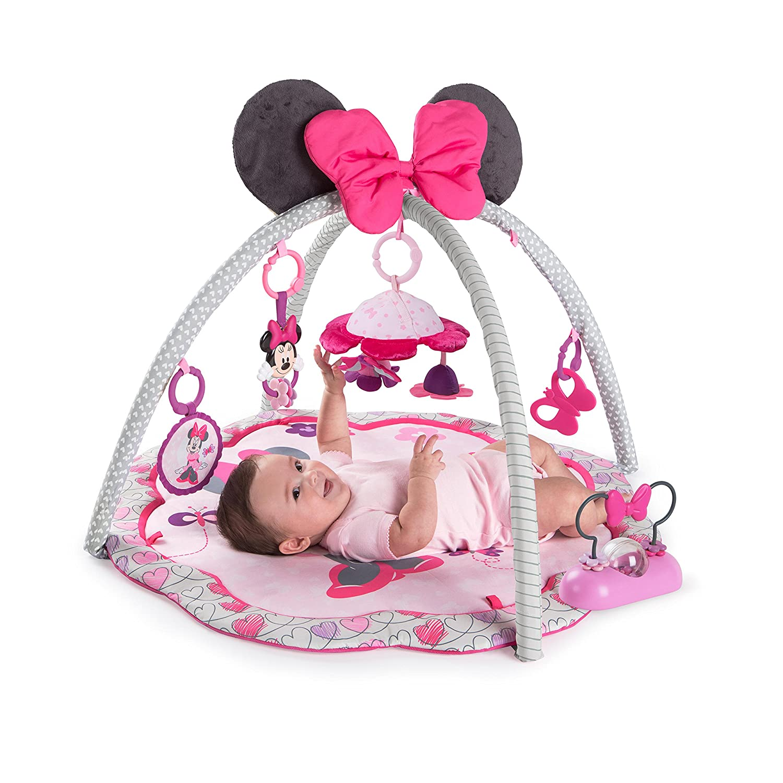 Amazon.com : Disney Baby Minnie Mouse Garden Fun Activity Gym : Baby