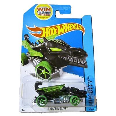 Hot Wheels 2014 HW City Dragon Blaster 69/250, Black: Toys & Games