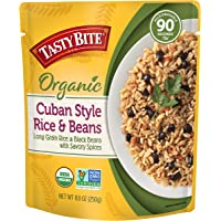 Tasty Bite Cuban Style Rice & Beans, 8oz Pouch, 6Count