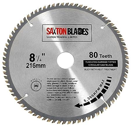 Tct21680t saxton tct circular wood saw blade 216mm x 30mm x bore x 80t for bosch makita dewalt tct21680t saxton tct circular wood saw blade 216mm x 30mm x bore x 80t for bosch greentooth Choice Image