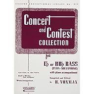 Concert and Contest Collection for Bass/Tuba (B.C.): Piano Accompaniment (Rubank Educational Librabry)