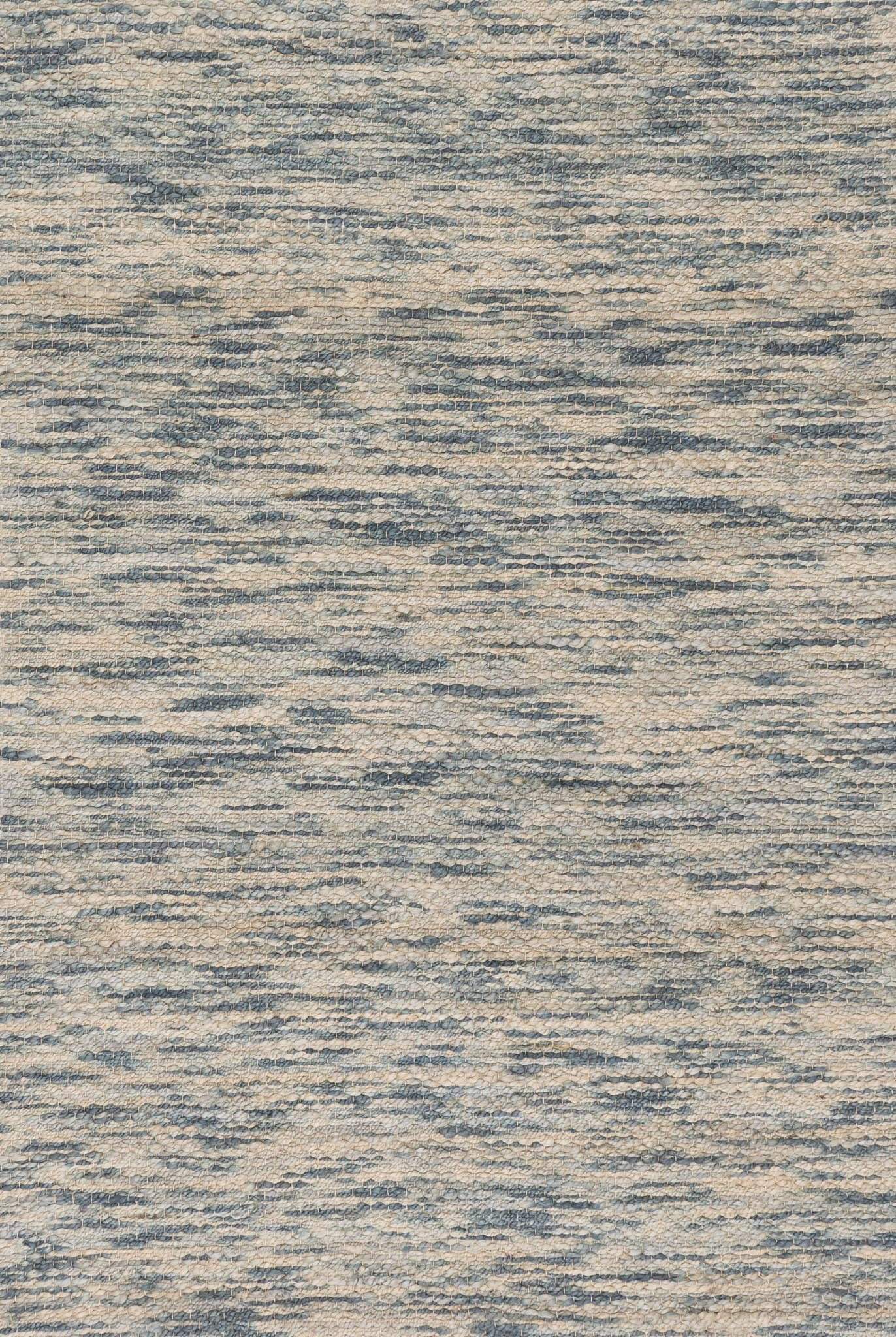Loloi Rugs CARKCK-01SC005076 Carrick Collection Contemporary Area Rug, 5'-0'' x 7'-6'', Sky