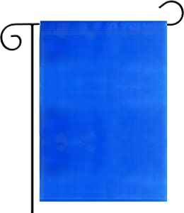 2 Pack Garden Flag Pure Solid Blue Garden Flag Royal Navy Blue Flag Color Flag, Plain Blue Flags,Garden Decoration Flag,Indoor and Outdoor Flags,Party Decoration, Home Decoration,DIY,Double-Sided.